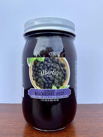 jar of blackberr