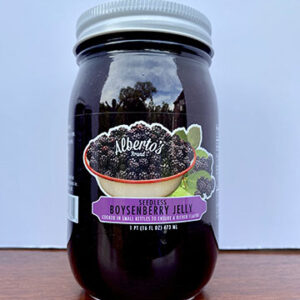 jar of boysenberry