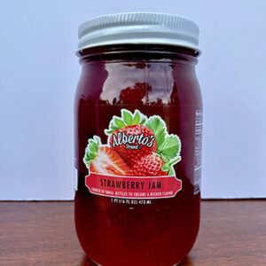 jar of strawberry